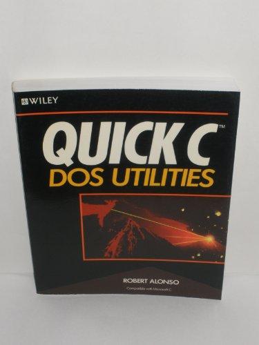 9780471609056: Quick C DOS Utilities