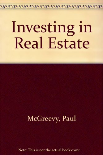 9780471609216: Investing in Real Estate