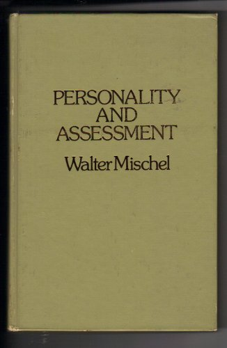 Personality and Assessment (Series in psychology): Mischel, Walter