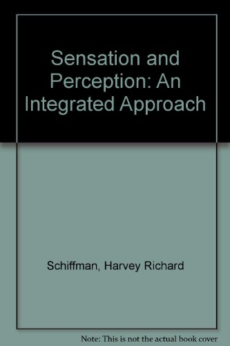 9780471610489: Sensation and Perception: An Integrated Approach