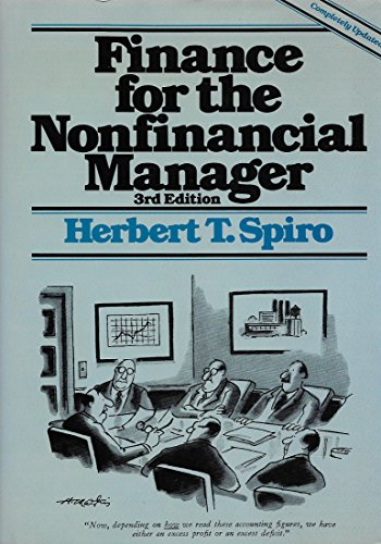 9780471610588: Finance for the Nonfinancial Manager