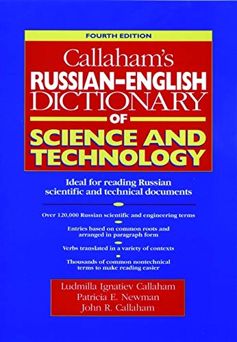 9780471611394: Callaham's Russian-English Dictionary of Science and Technology