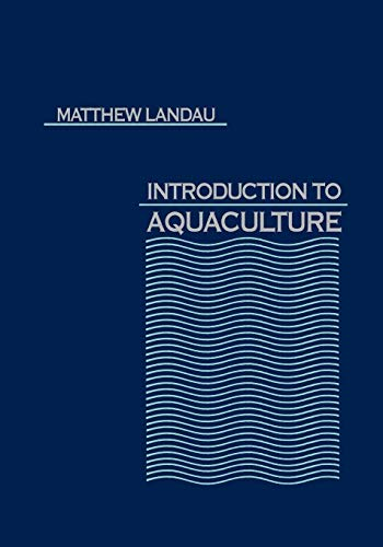 9780471611462: Introduction to Aquaculture