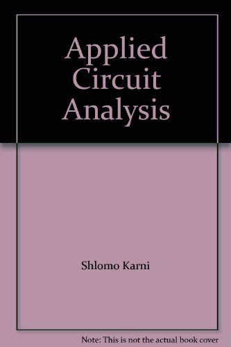 9780471611486: Applied Circuit Analysis