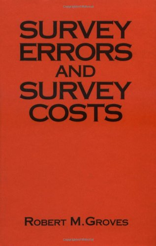 9780471611714: Survey Errors and Survey Costs (Wiley Series in Probability and Statistics)