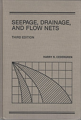 9780471611783: Seepage, Drainage, and Flow Nets (Wiley Classics in Ecology and Environmental Science)