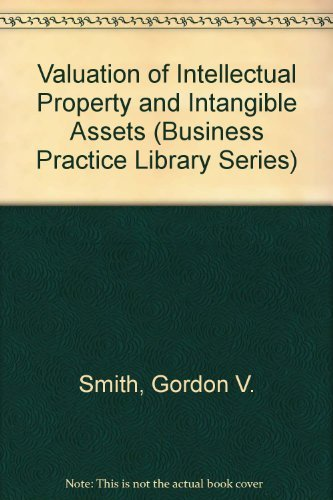 9780471612001: Valuation of Intellectual Property and Intangible Assets
