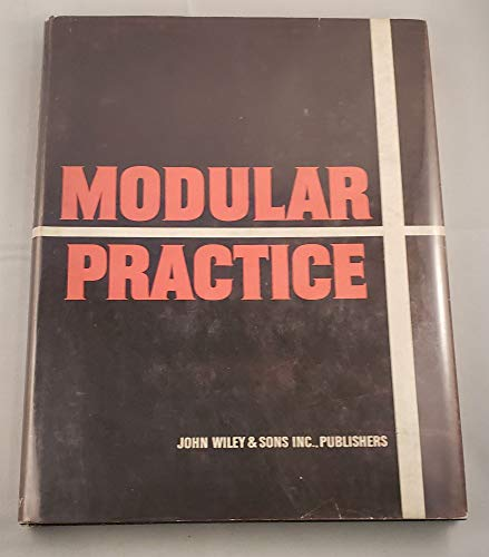 9780471612070: Modular Practice: The Schoolhouse and the Building Industry