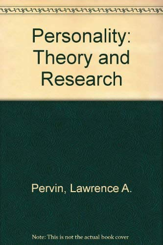 9780471612193: Personality: Theory and Research