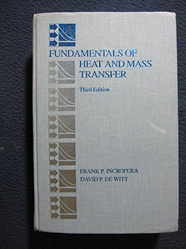 9780471612469: Fundamentals of Heat and Mass Transfer