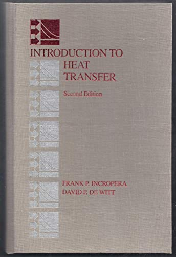 9780471612476: Introduction to Heat Transfer