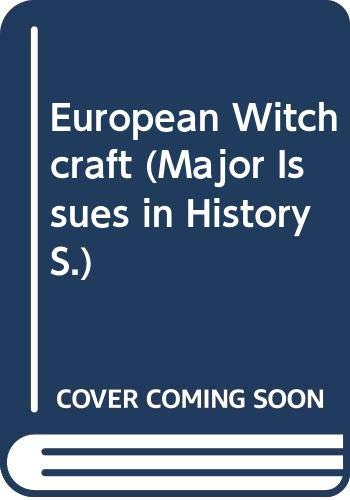 9780471614029: European Witchcraft