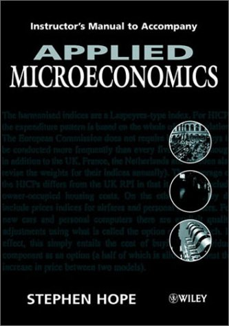 9780471614258: Applied Microeconomics Tm t/a (Paper Only)