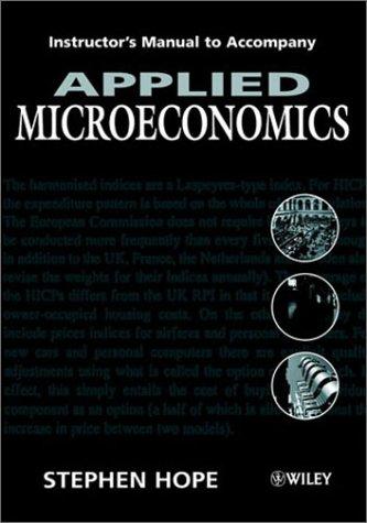 9780471614258: Applied Microeconomics