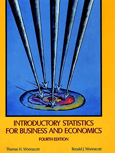 9780471615170: Introductory Statistics for Business and Economics, 4th Edition