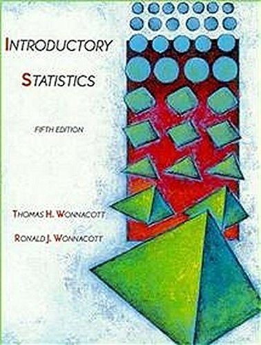 9780471615187: Introductory Statistics, 5th Edition