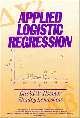 9780471615538: Applied Logistic Regression (Wiley Series in Probability and Statistics - Applied Probability and Statistics Section)