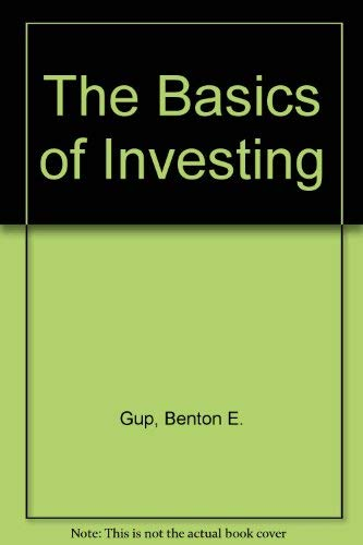 9780471615965: The Basics of Investing