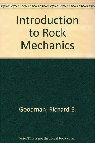 9780471617181: Introduction to Rock Mechanics