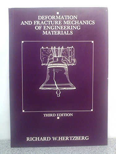 9780471617228: Deformation and Fracture Mechanics of Engineering Materials