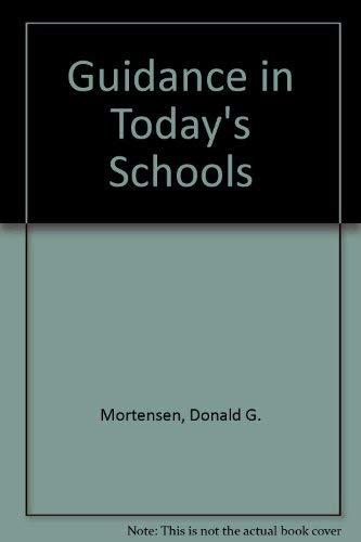 9780471617792: Guidance in Today's Schools