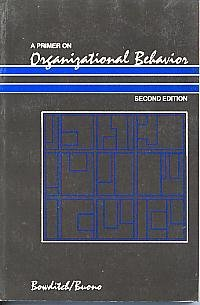 9780471617853: A Primer on Organizational Behavior