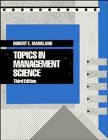 9780471617860: Topics in Management Science, 3rd Edition