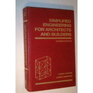 9780471618065: Simplified Engineering for Architects and Builders