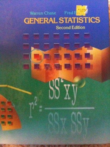 9780471619017: General Statistics
