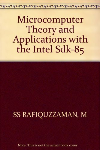 9780471619086: Microcomputer Theory and Applications with the Intel Sdk-85