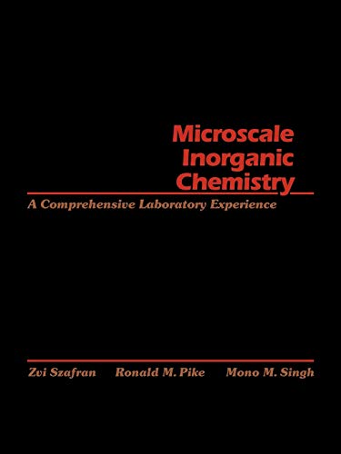 9780471619963: Microscale Inorganic Chemistry: A Comprehensive Laboratory Experience