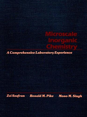 9780471619963: Microscale Inorganic Chemistry: A Comprehensive Laboratory Experience