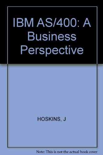 9780471621492: IBM AS/400: A Business Perspective