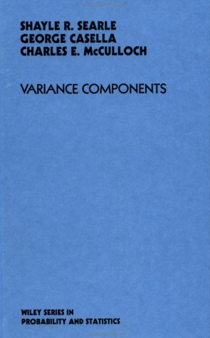 9780471621621: Variance Components (Probability & Mathematical Statistics)