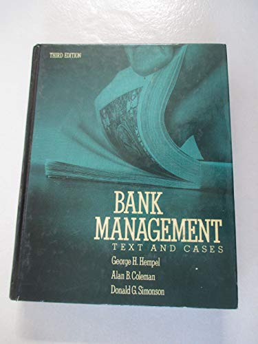 9780471621782: Bank Management: Text and Cases