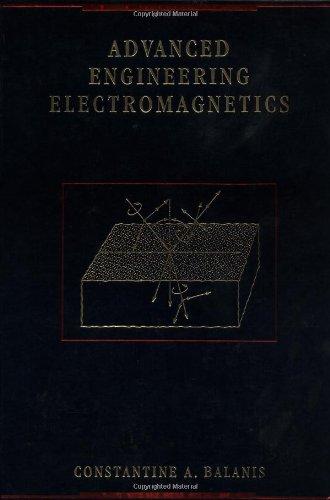 9780471621942: Advanced Engineering Electromagnetics