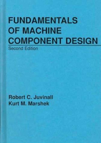 9780471622819: Fundamentals of Machine Component Design