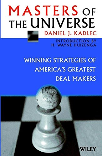 9780471623526: Masters of the Universe: Winning Strategies of America's Greatest Deal Makers