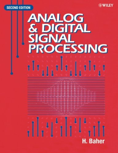 9780471623540: Analog and Digital Signal Processing