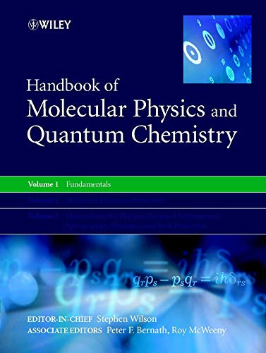 9780471623748: Handbook of Molecular Physics and Quantum Chemistry