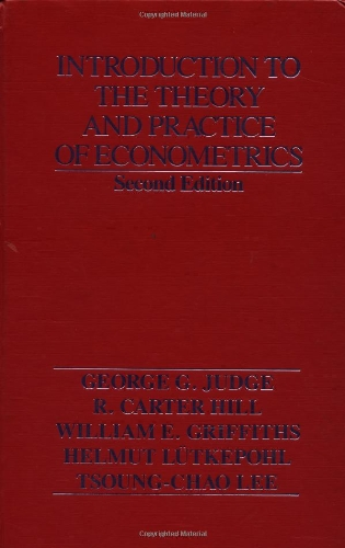 9780471624141: Introduction to the Theory and Practice of Econometrics, 2nd Edition