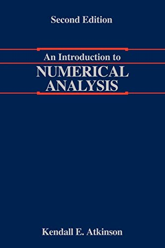 9780471624899: An Introduction to Numerical Analysis