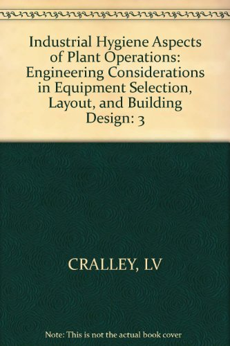 Industrial Hygiene Aspects of Plant Operations, Engineering: CRALLEY, LV
