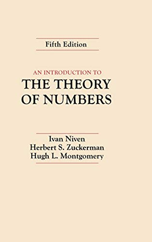 9780471625469: An Introduction to the Theory of Numbers