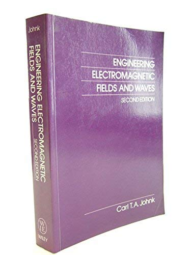 9780471625735: Engineering Electromagnetic Fields and Waves