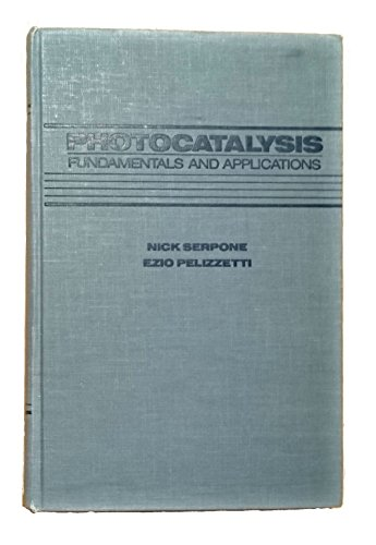 9780471626039: Photocatalysis: Fundamentals and Applications