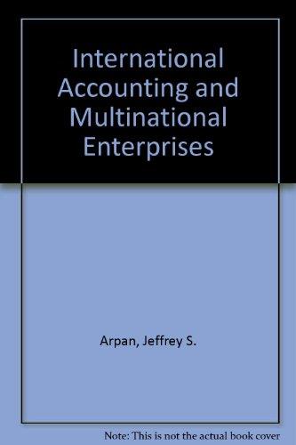 9780471626206: International Accounting and Multinational Enterprises