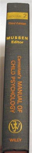 9780471626961: Carmichael's Manual of Child Psychology, Vol. 2
