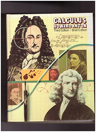 9780471627425: Calculus with Analytic Geometry
