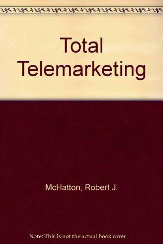 9780471627548: Total Telemarketing